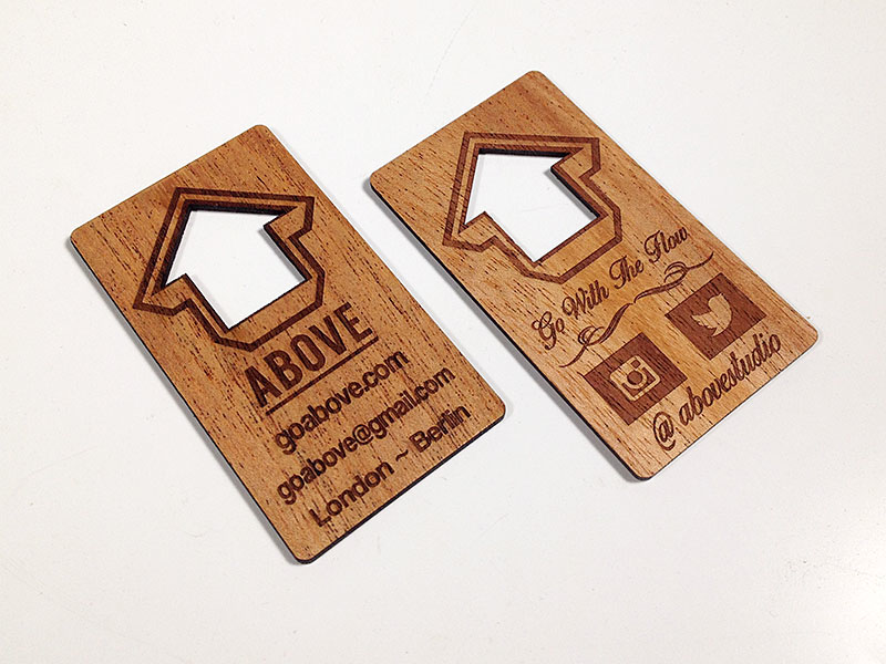 Laser Etched Business Cards Gallery - Business Card Template
